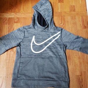 Girls Nike Dark Gray Hoodie